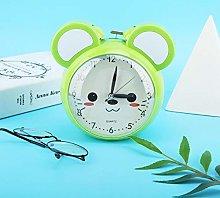 KUIDAMOS Blue/Green Alarm Clock, Bedside Alarm