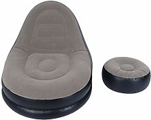KUIDAMOS Inflatable Lounge Chair, with Footstool,