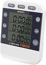 Kuinayouyi Digital Timer 100 Hour Triple Count