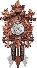 Kuinayouyi Vintage Home Decorative Bird Wall Clock