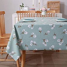 Kuingbhn Home Decorative Wipeable Tablecloth