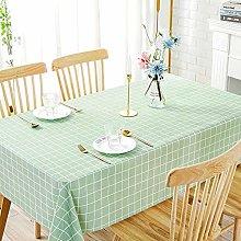 Kuingbhn Home Wipe Clean Folding Tablecloth Pvc