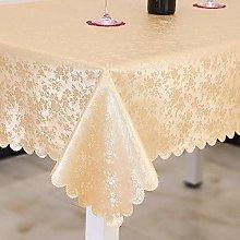 Kuingbhn Luxury Modern Wipe Clean Tablecloths Anti