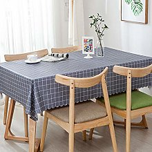 Kuingbhn Oilcloth Table Linen Tablecloth with