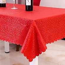 Kuingbhn Orient Design Rectangular Wipeable Table