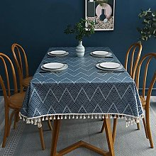 Kuingbhn Pattern Water Resistant Table Cloth