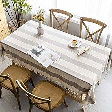 Kuingbhn Rectangular Tablecloth Stain Proof Multi
