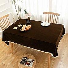 Kuingbhn Table Cloth Rectangular Folding Table