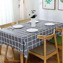 Kuingbhn Tablecloth Water-Repellent Table Linen