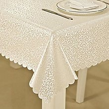Kuingbhn Wipe Clean Oilcloth Table Cloth Anti