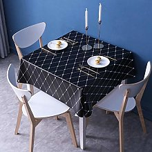 Kuingbhn Wipe Clean Oilcloth Table Cloth Pvc