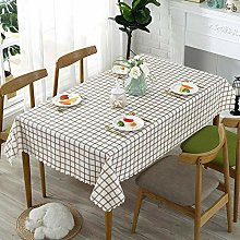 Kuingbhn Wipe Clean Tablecloth for Party Pvc,