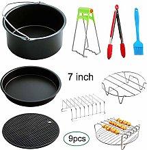 Kuizhiren1 Pots & Pans Camping Cookware Kit,9Pcs