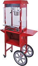 KuKoo Commercial 8oz Popcorn Maker Machine & Cart
