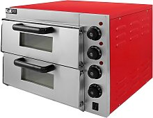 Kukoo - Electric Pizza Oven with Audible Timer &
