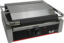 KuKoo Grooved Panini Press Ribbed Contact Grill