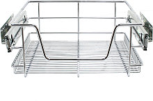 KuKoo Kitchen Pull Out Storage Baskets – 400mm