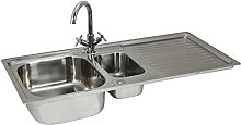 KuKoo Stainless Steel Kitchen Sink Basin &