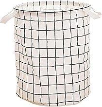 Kumkey Laundry Hamper Basket Large Foldable