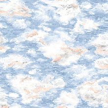 Kumo 10m L x 53cm W Abstract Roll Wallpaper East