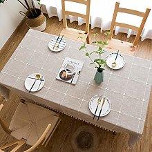 KunLS Table cloth Wipeable tablecloths Washable