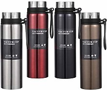 KUNSE 1L Stainless Steel Vacuum Cup Camping Travel