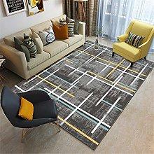 Kunsen Abstract gray soft, no hair, modern carpet