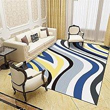 Kunsen Abstract lines non-slip popular living room