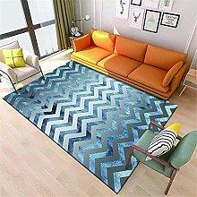 Kunsen Cheap Area Rug Modern geometric non-slip