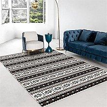 Kunsen Cheap Carpet Black white simple living room