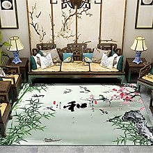 Kunsen Cheap Extra Large Rugs Chinese style modern