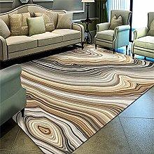 Kunsen Cheap Luxury abstract yellow rug cheap area