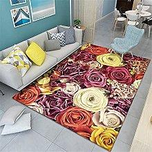 Kunsen Classic creative flowers pattern-180X230CM