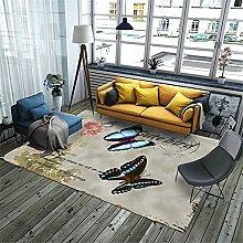 Kunsen Classic creative geometric butterfly carpet