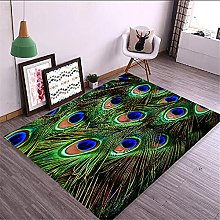 Kunsen Classic creative peacock open screen green