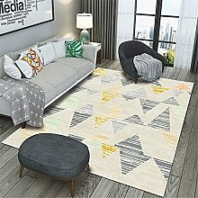 Kunsen Comfortable Carpet Gray light triangle