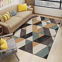 Kunsen Fireplace Rug Geometric luxury room carpet