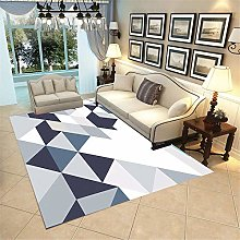 Kunsen geometric rug Modern geometric soft short