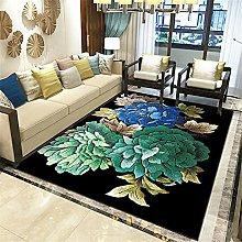 Kunsen Green line non-slip popular living room big