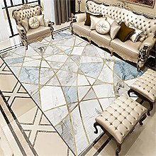 Kunsen kids carpet Gray Blue Carpet Low Velvet