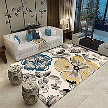 Kunsen Large Living Room Rugs Ink painting modern
