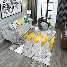 Kunsen Large Living Room Rugs Symmetric graphic