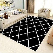 Kunsen Moderne minimaliste noir salon de salon de