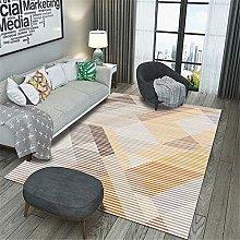 Kunsen Rug For Bedroom Floral strip salon carpet