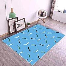 Kunsen Rug For Bedroom Printed carpet modern