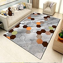 Kunsen Rug For Living Room Creative geometric