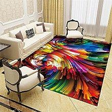 Kunsen Rug For Living Room Geometric abstract