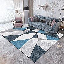 Kunsen rug for living room Living room carpet blue