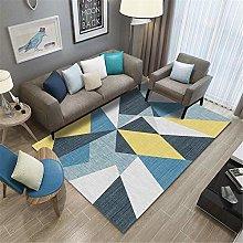 Kunsen Rug For Living Room Polygonal light luxury