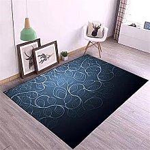 Kunsen Rug For Living Room Printed carpet modern